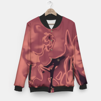 Thumbnail image of Flowery Abstract Baseball Jacket, Live Heroes