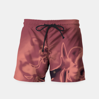 Thumbnail image of Flowery Abstract Swim Shorts, Live Heroes
