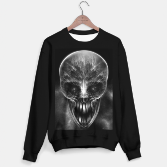 Thumbnail image of Fractal Gothic Skull Sweater regular, Live Heroes