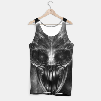 Thumbnail image of Fractal Gothic Skull Tank Top, Live Heroes