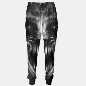 Thumbnail image of Fractal Gothic Skull Sweatpants, Live Heroes