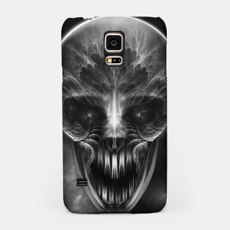 Thumbnail image of Fractal Gothic Skull Samsung Case, Live Heroes