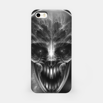 Thumbnail image of Fractal Gothic Skull iPhone Case, Live Heroes