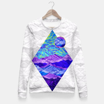 Thumbnail image of Modern Art Fitted Waist Sweater, Live Heroes