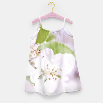 Apple Tree Blossoms Girl's Dress miniature