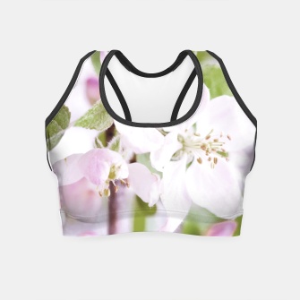 Apple Tree Blossoms Crop Top miniature