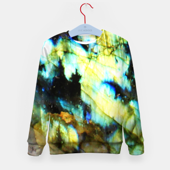 Thumbnail image of Holographic Mineral Enfantin Sweat-shirt, Live Heroes
