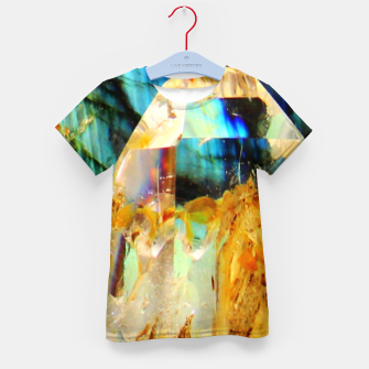 Thumbnail image of Holographic Mineral Enfantin T-shirt, Live Heroes