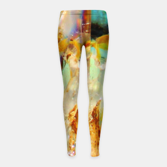Thumbnail image of Holographic Mineral Leggings de fille, Live Heroes