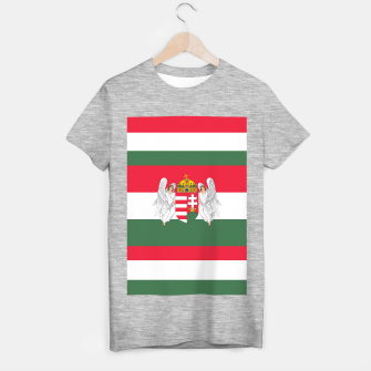 Miniaturka Hungary (1867-1918) Flag T-shirt regular, Live Heroes