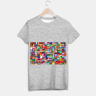 Miniaturka WORLD FLAGS T-shirt regular, Live Heroes