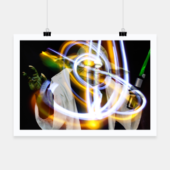 Thumbnail image of YODA Light Affiche, Live Heroes