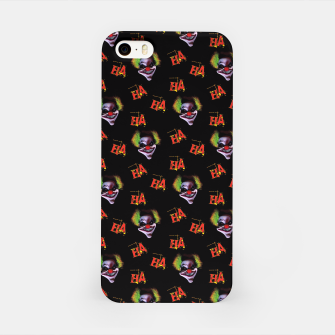 Miniatur Horrorclown Pattern iPhone Case, Live Heroes
