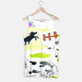 Thumbnail image of aliens and cows Tank Top, Live Heroes