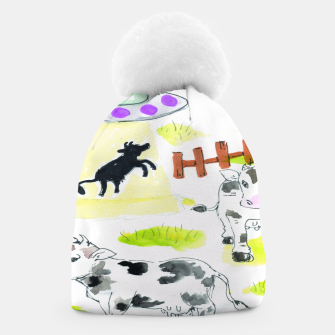 Thumbnail image of aliens and cows Beanie, Live Heroes