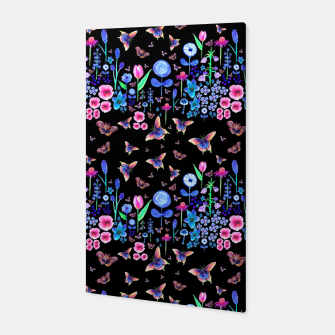 Thumbnail image of Night Garden Canvas, Live Heroes