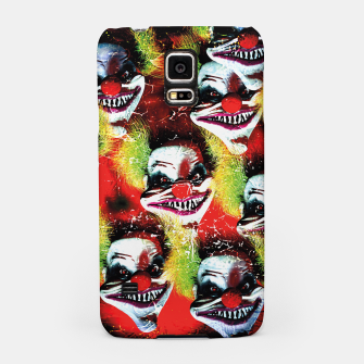 Miniatur Scary Halloween Horrorclown Pattern Samsung Case, Live Heroes