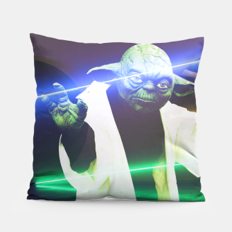 Thumbnail image of Laser Yoda Coussin, Live Heroes