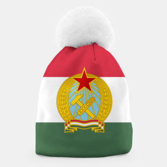 Miniatur Hungarian People's Republic (1949–1956) Flag Beanie, Live Heroes