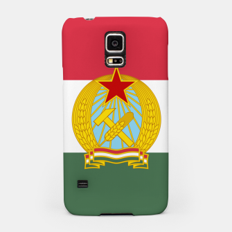 Miniatur Hungarian People's Republic (1949–1956) Flag Samsung Case, Live Heroes