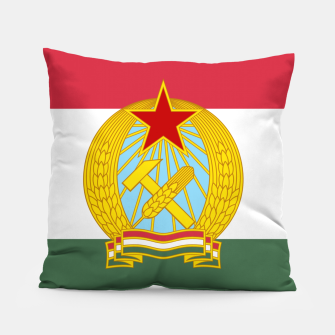 Miniaturka Hungarian People's Republic (1949–1956) Flag Pillow, Live Heroes