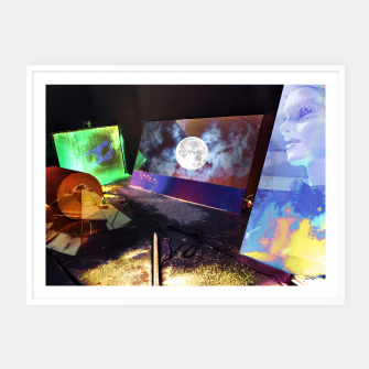 Thumbnail image of Moon Atmosphere Affiche et cadre, Live Heroes