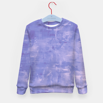 Thumbnail image of Artsy Blue Kid's Sweater, Live Heroes