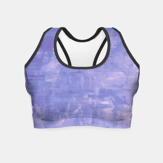Thumbnail image of Artsy Blue Crop Top, Live Heroes