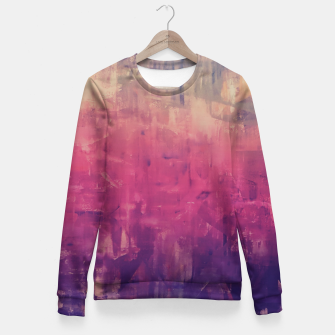 Thumbnail image of Artsy Ombre Fitted Waist Sweater, Live Heroes