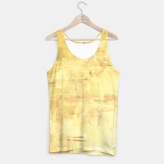 Miniatur Artsy Yellow Tank Top, Live Heroes