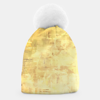 Miniatur Artsy Yellow Beanie, Live Heroes