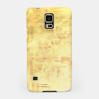 Miniatur Artsy Yellow Samsung Case, Live Heroes