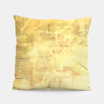 Miniatur Artsy Yellow Pillow, Live Heroes