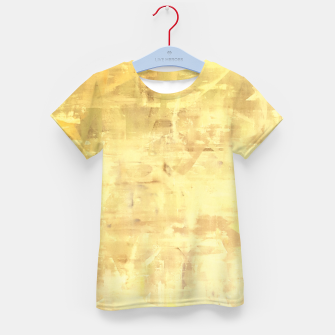 Thumbnail image of Artsy Yellow Kid's T-shirt, Live Heroes