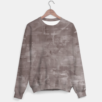 Miniatur Artsy Grey Sweater, Live Heroes