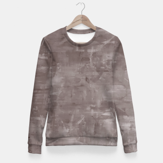 Miniatur Artsy Grey Fitted Waist Sweater, Live Heroes