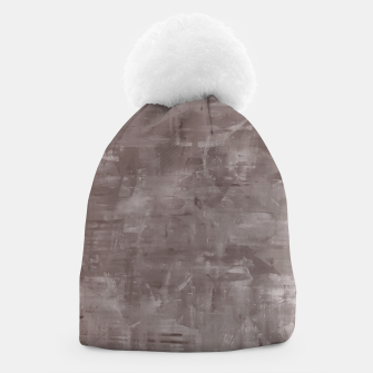 Thumbnail image of Artsy Grey Beanie, Live Heroes