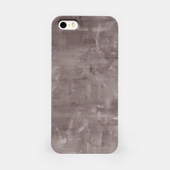 Miniatur Artsy Grey iPhone Case, Live Heroes