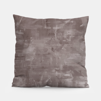 Miniatur Artsy Grey Pillow, Live Heroes