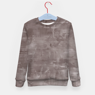 Thumbnail image of Artsy Grey Kid's Sweater, Live Heroes