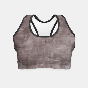 Thumbnail image of Artsy Grey Crop Top, Live Heroes