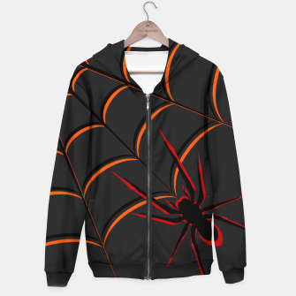 Thumbnail image of Scary Spider Hoodie, Live Heroes