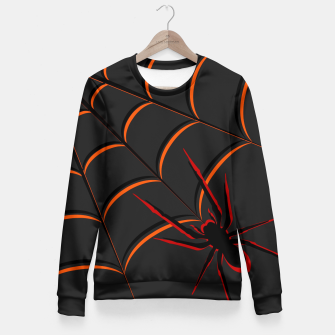 Thumbnail image of Scary Spider Fitted Waist Sweater, Live Heroes