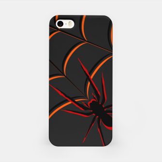Scary Spider iPhone Case thumbnail image