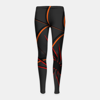 Thumbnail image of Scary Spider Girl's Leggings, Live Heroes