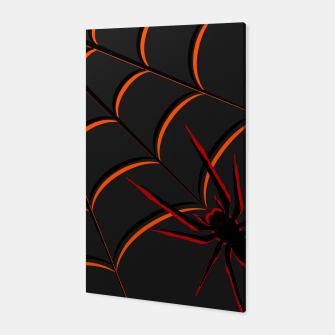 Thumbnail image of Scary Spider Canvas, Live Heroes