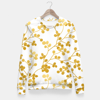 Golden Vines Fitted Waist Sweater thumbnail image