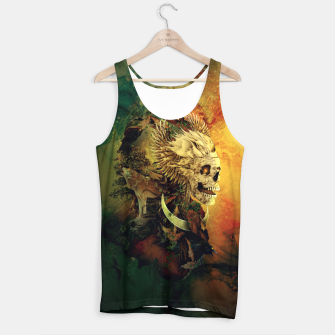 Thumbnail image of Skull Lord III Tank Top, Live Heroes