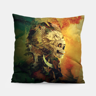 Thumbnail image of Skull Lord III Pillow, Live Heroes