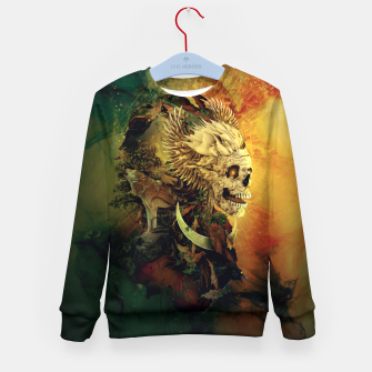 Thumbnail image of Skull Lord III Kid's Sweater, Live Heroes